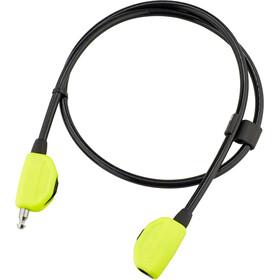 Hiplok POP Candado de cable, amarillo